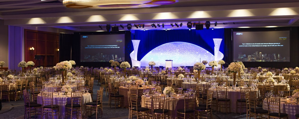 Gala venue in Boston