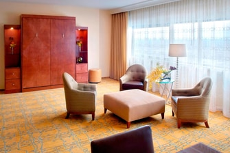 Luxury Suite Copley Square hotel