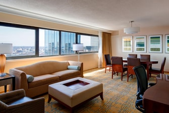 Suite Ejecutiva del Boston Marriott Copley Place