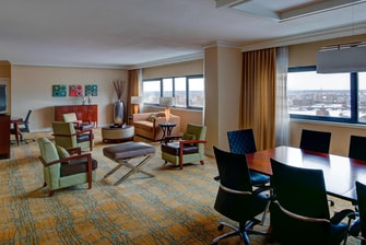 Suite Vicepresidencial del Boston Marriott Copley Place