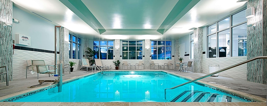 Heated Salt Water Indoor Pool