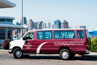 Free Shuttle Service to Logan Airport