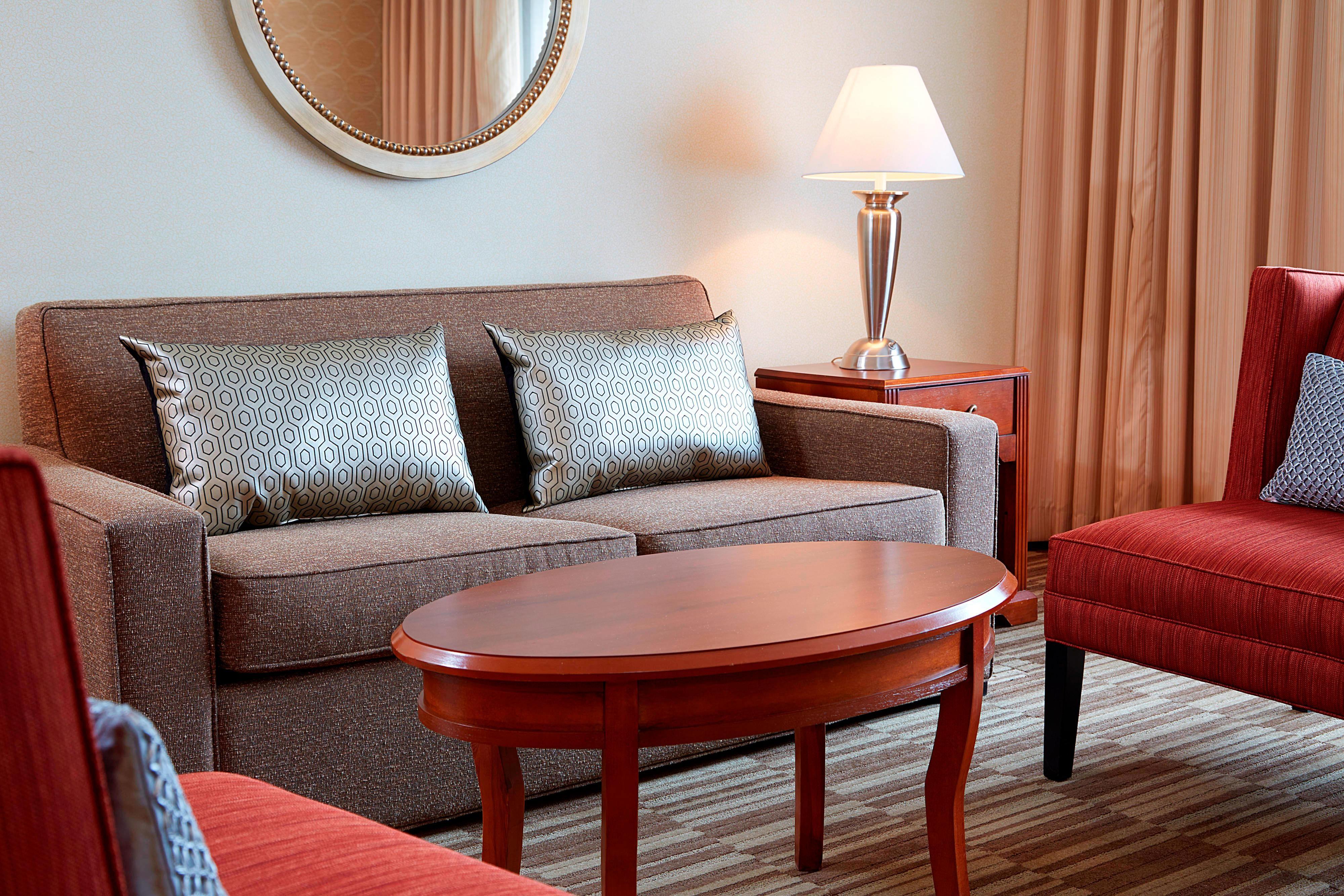 Suite King – Zona de asientos