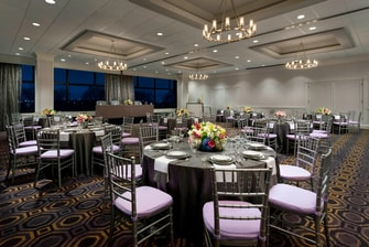 Spacious Ballroom is flexibility to host any event to suit your needs.