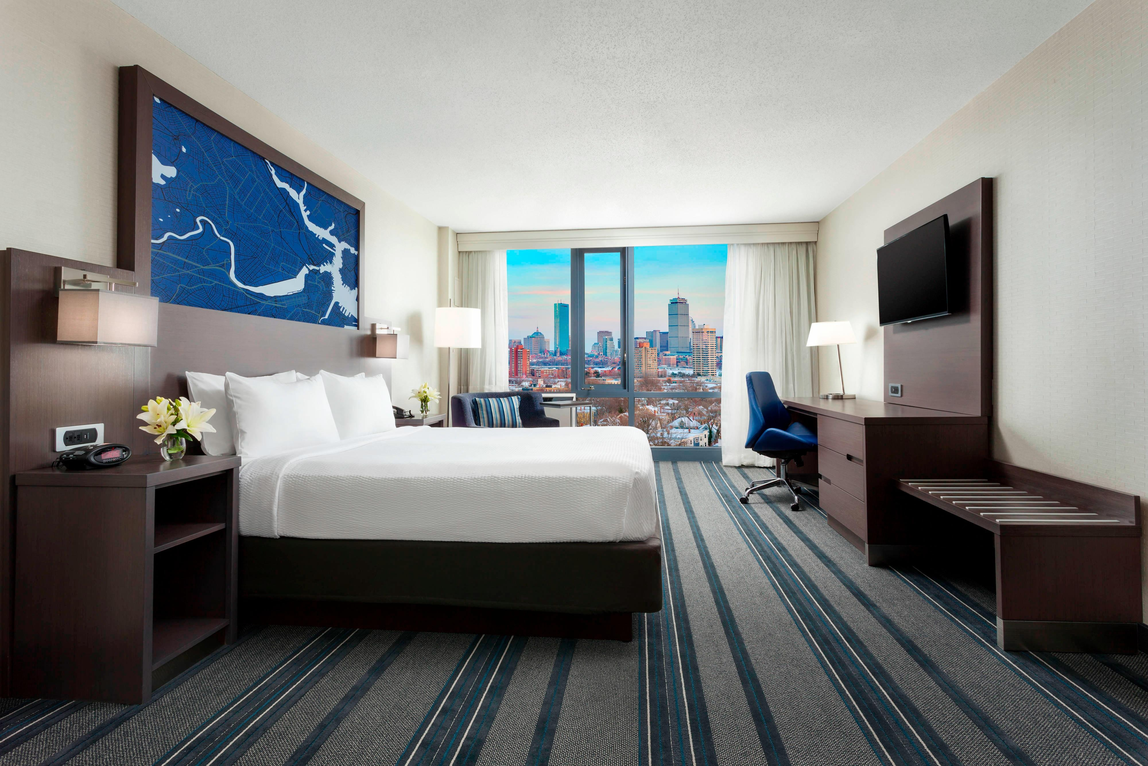 Deluxe King Guest Room - City View