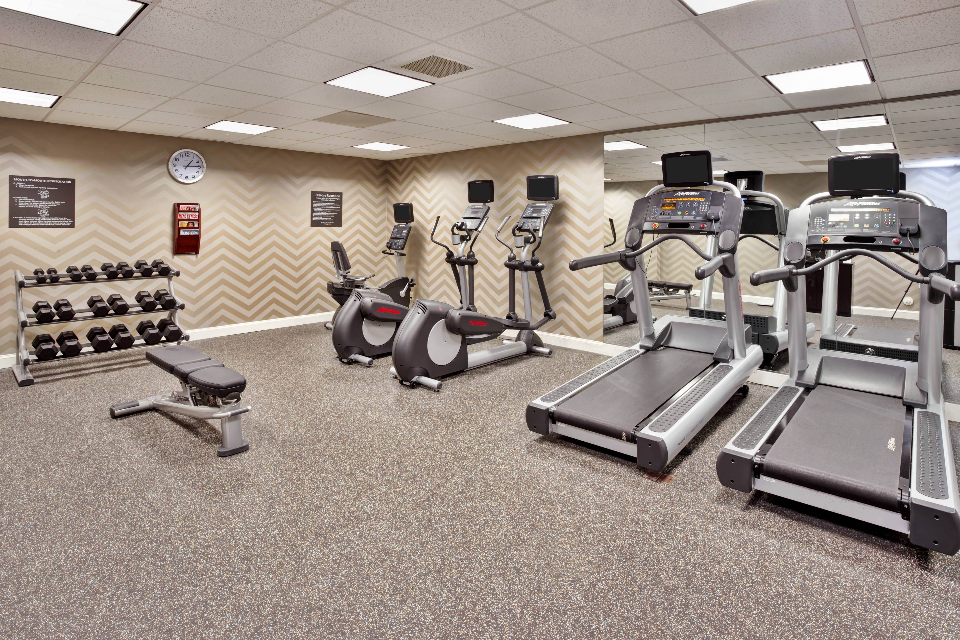 Dedham Hotel Fitness Center
