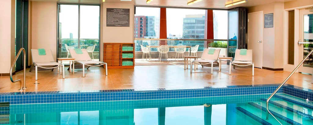 Residence Inn Boston Fenway Hotel Rooftop Pool