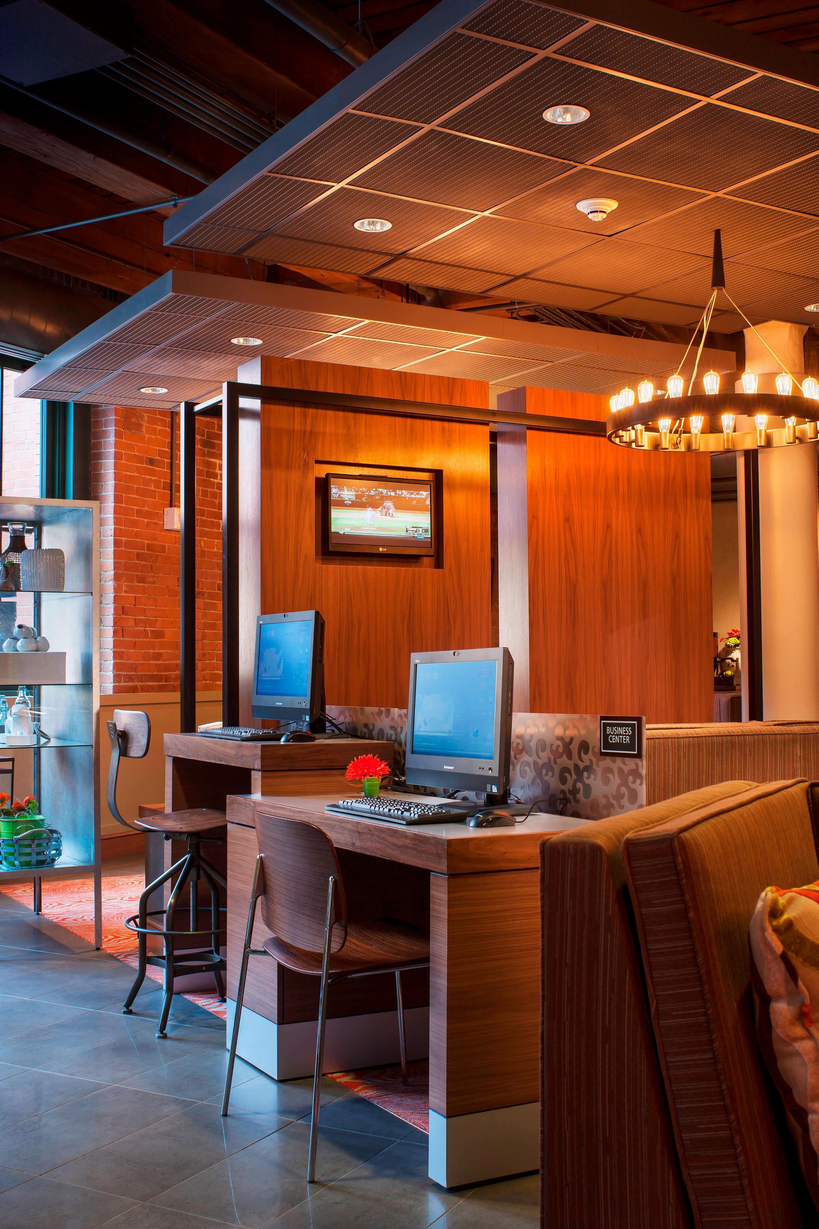 Centre d'affaires du Residence Inn de Boston