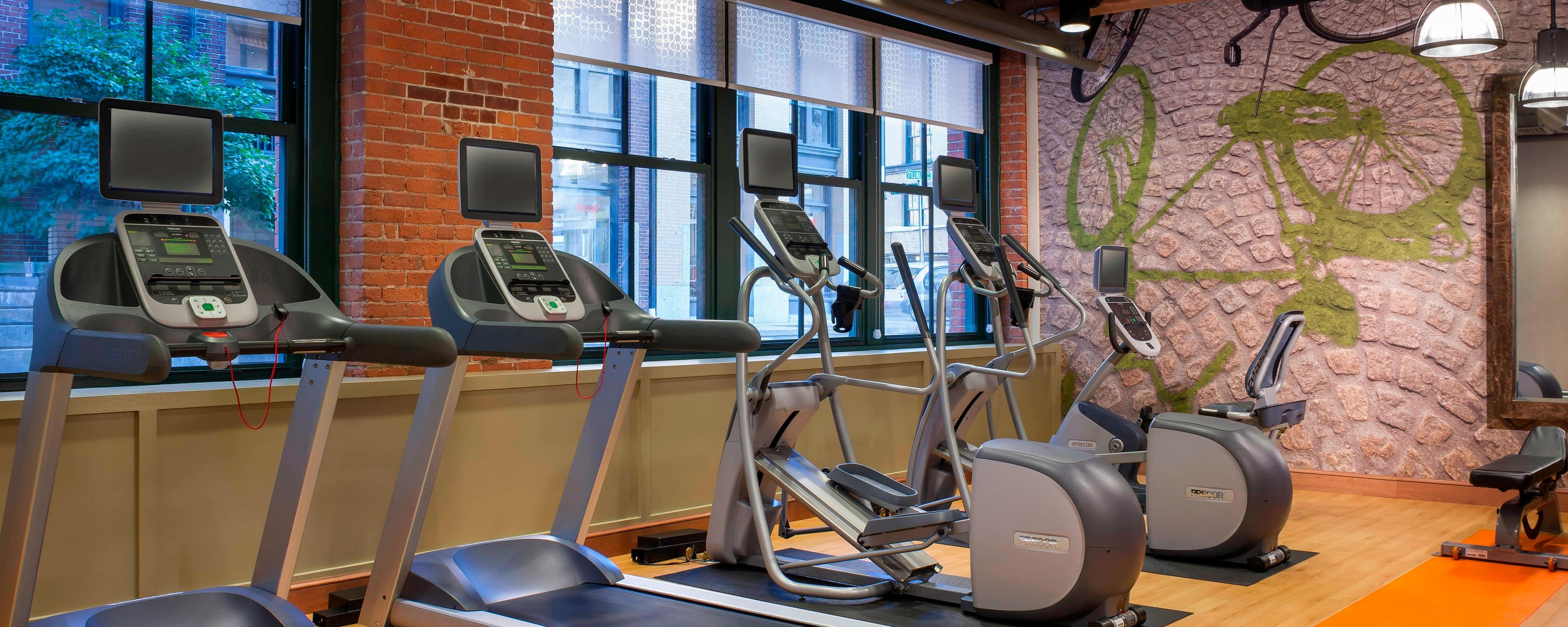 Residence Inn Seaport Fitness Center