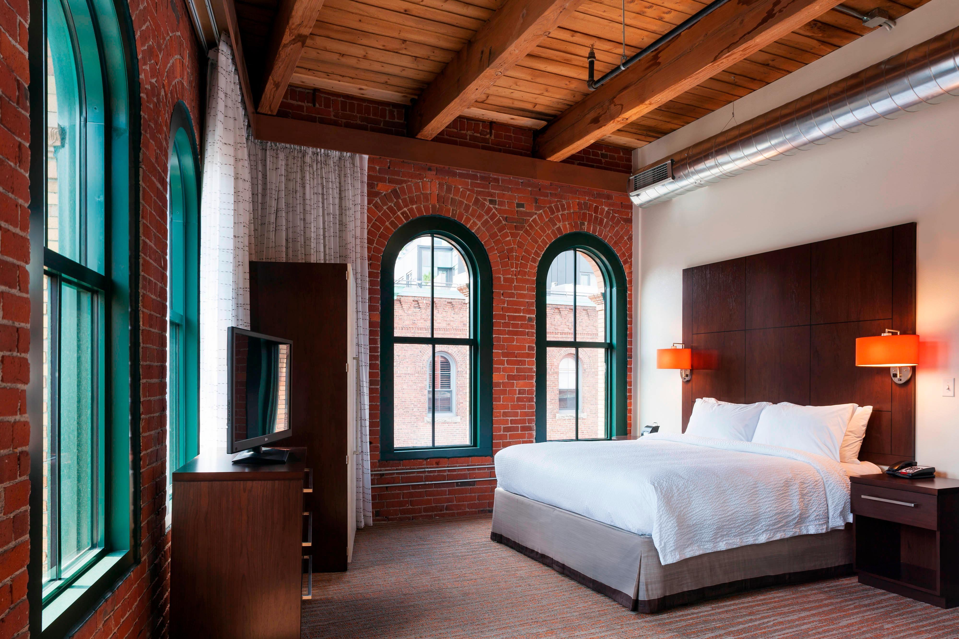 Suite à une chambre de l'hôtel de Boston