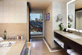 Renovated Suite - Bathroom