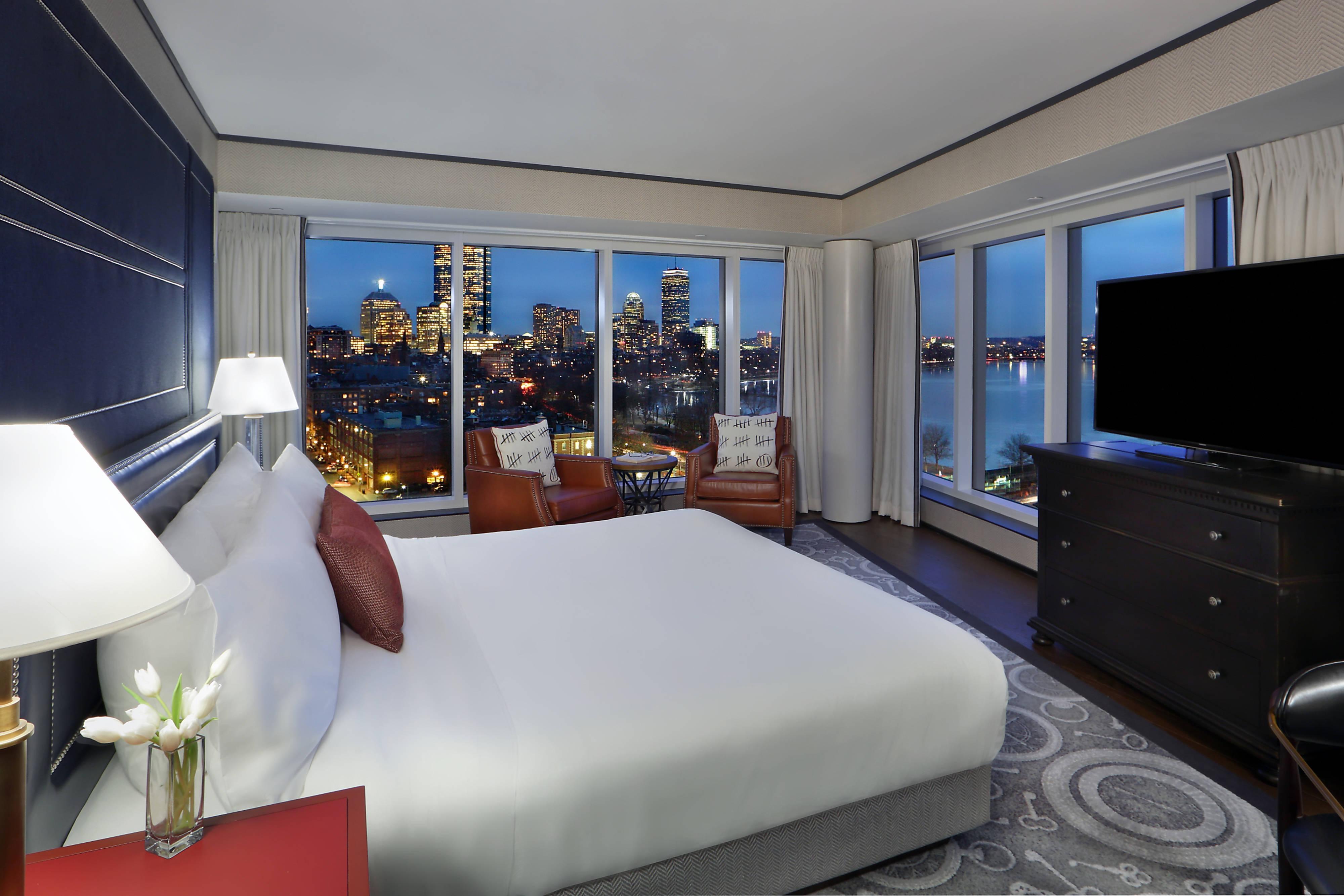 Schlafzimmer der Charles River Suite