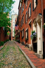 Histórica Beacon Hill en Boston, Massachusetts