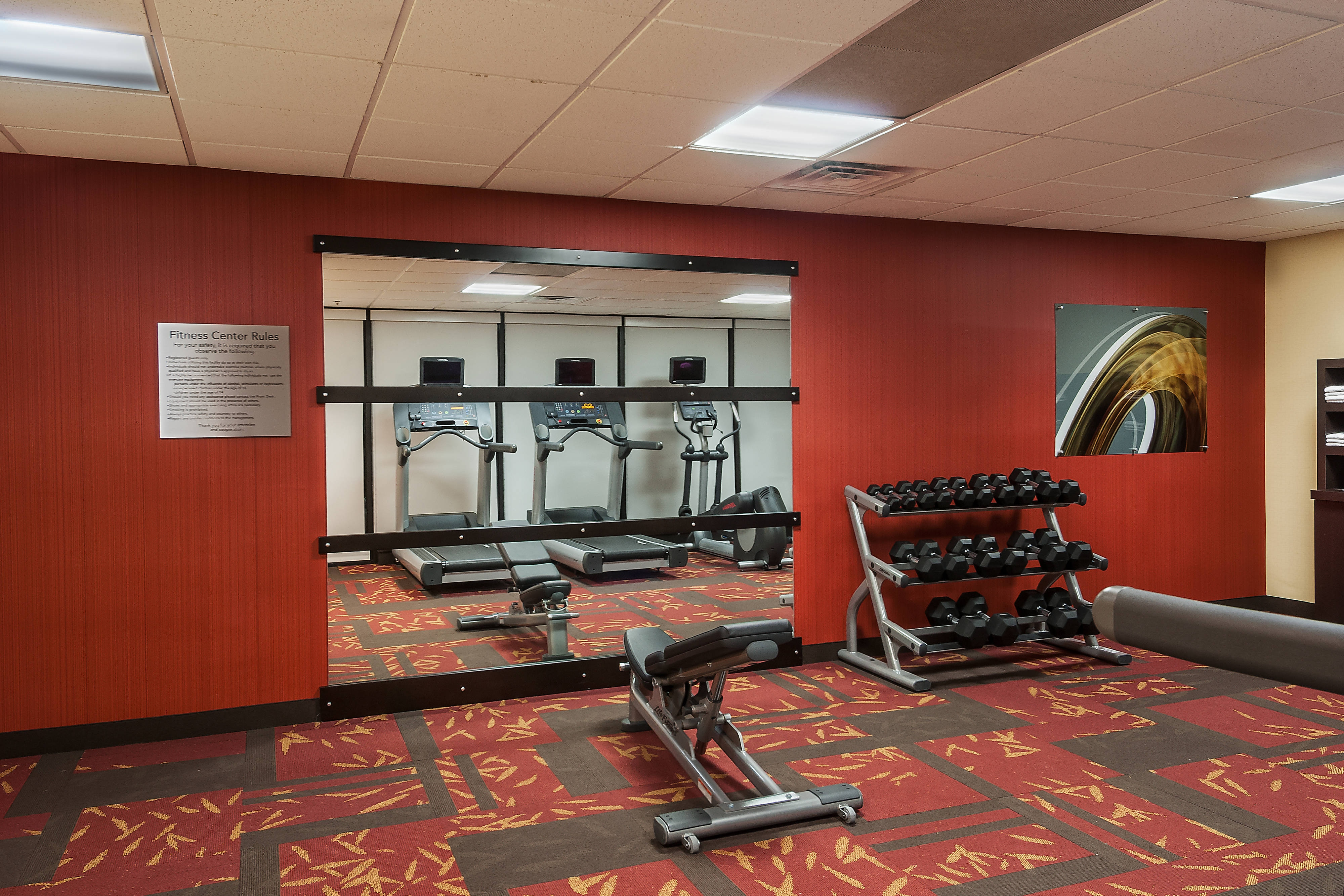 Marlborough hotel fitness center