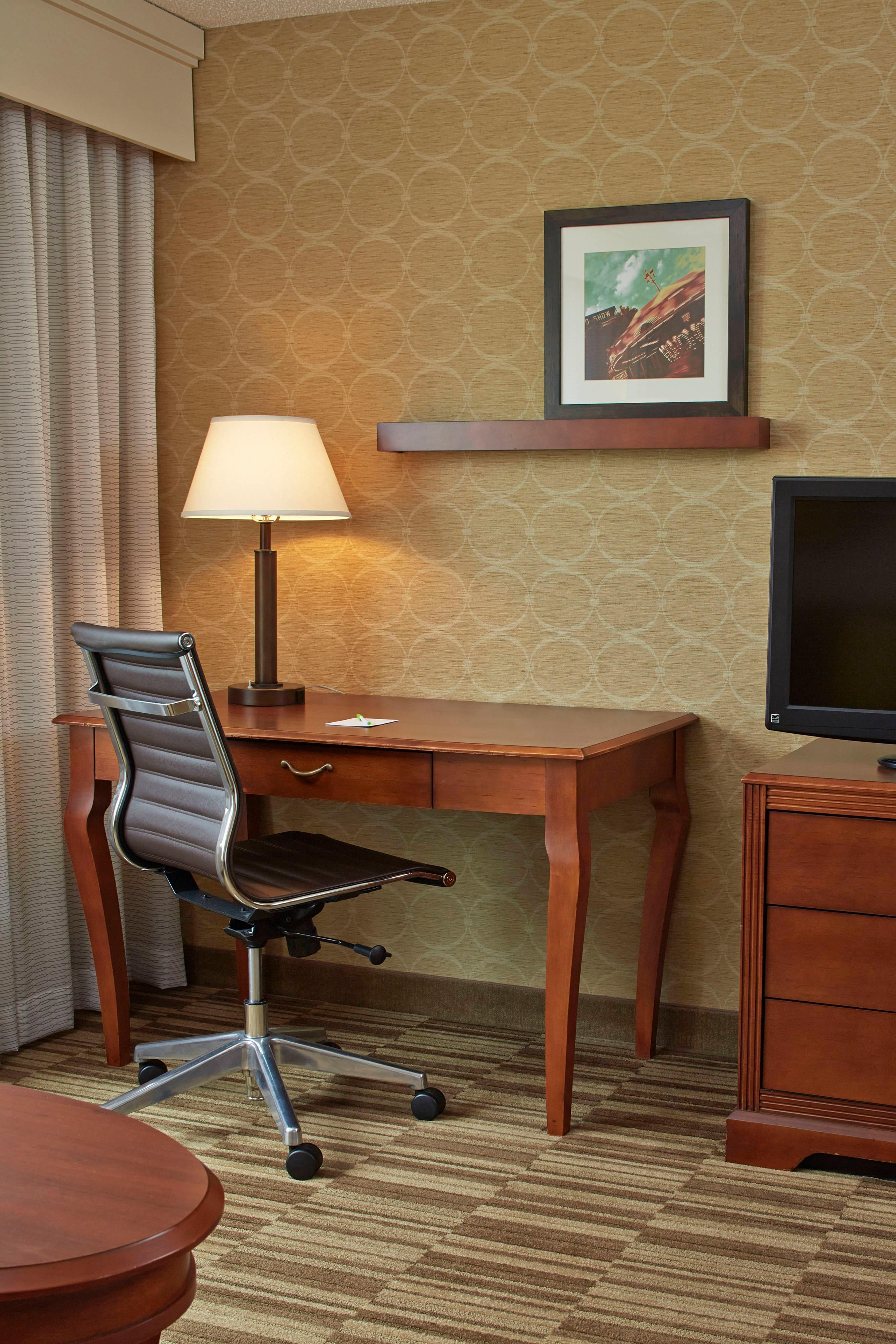 In-room work stations