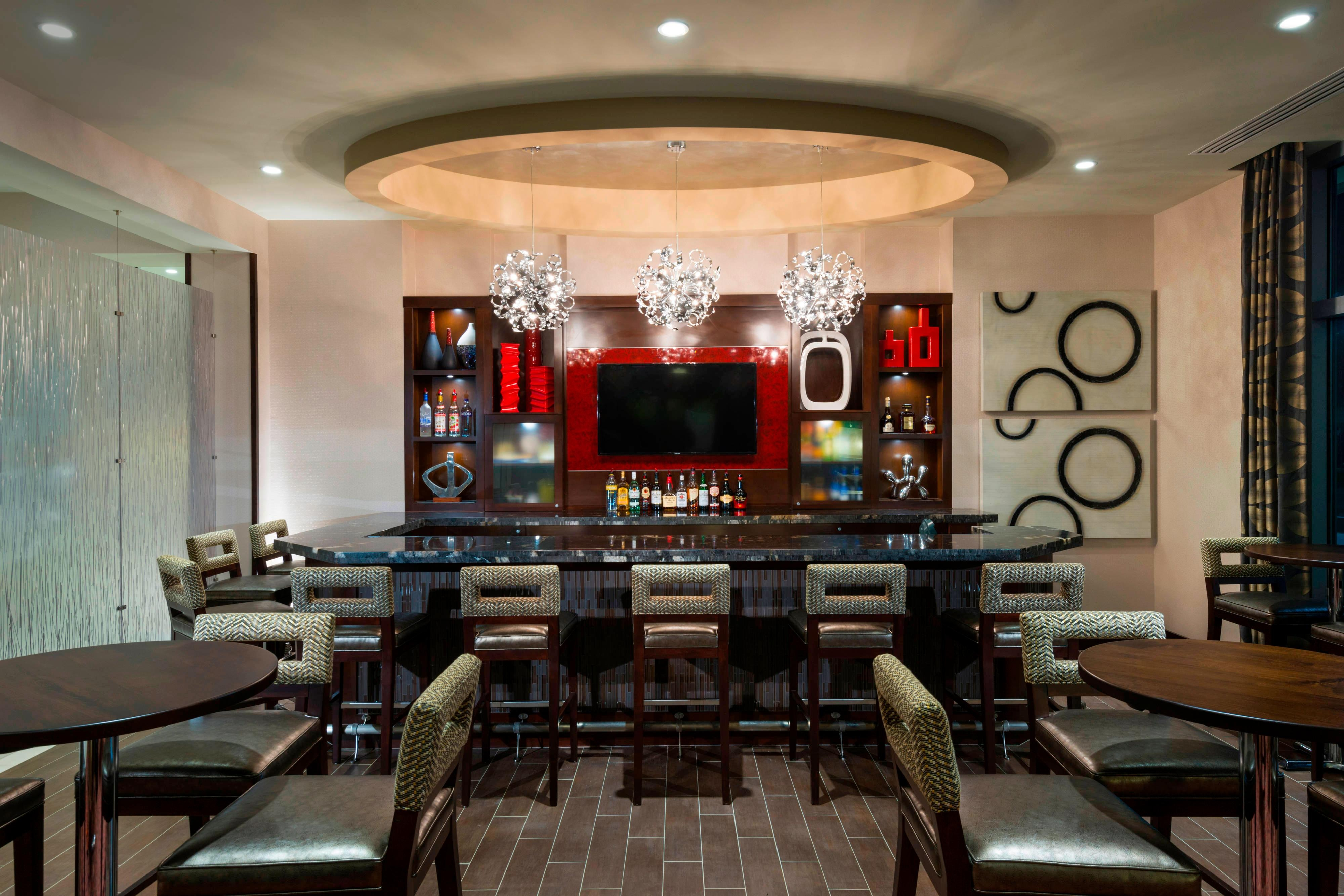 Lobby Bar Residence Boston Needham