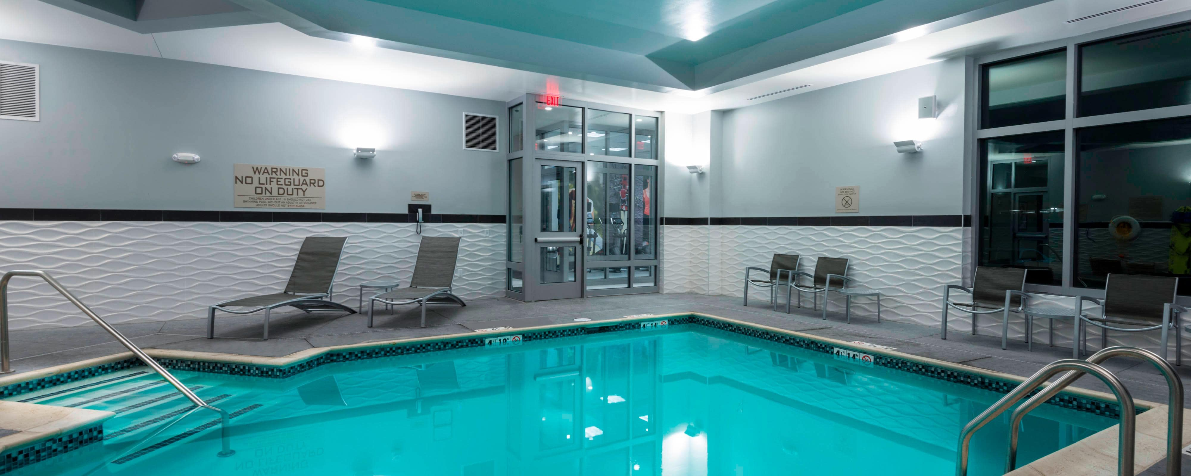 Indoor Salt Water Heated Pool