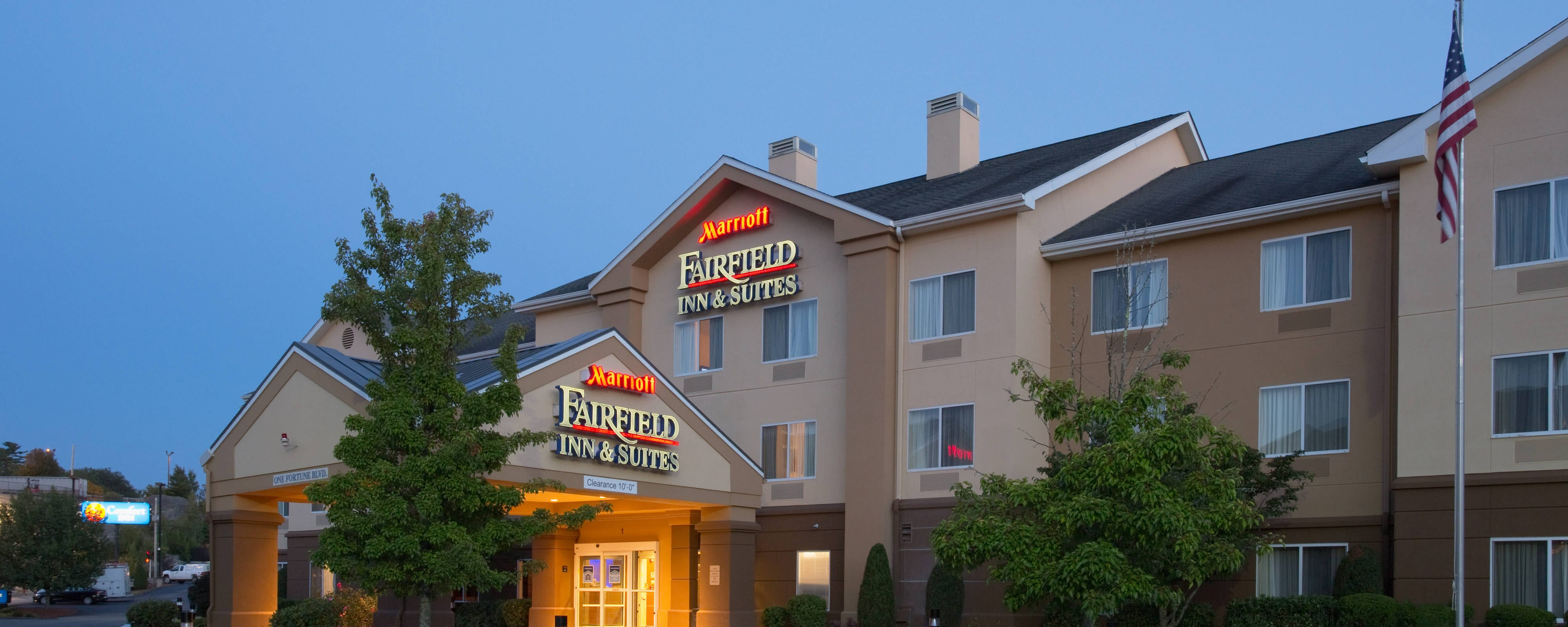 Ord Ma Hotels Fairfield Inn Suites Boston By Marriott A Convenient Family Friendly And Affordable Hotel Located Off Rte 495 Near I 95
