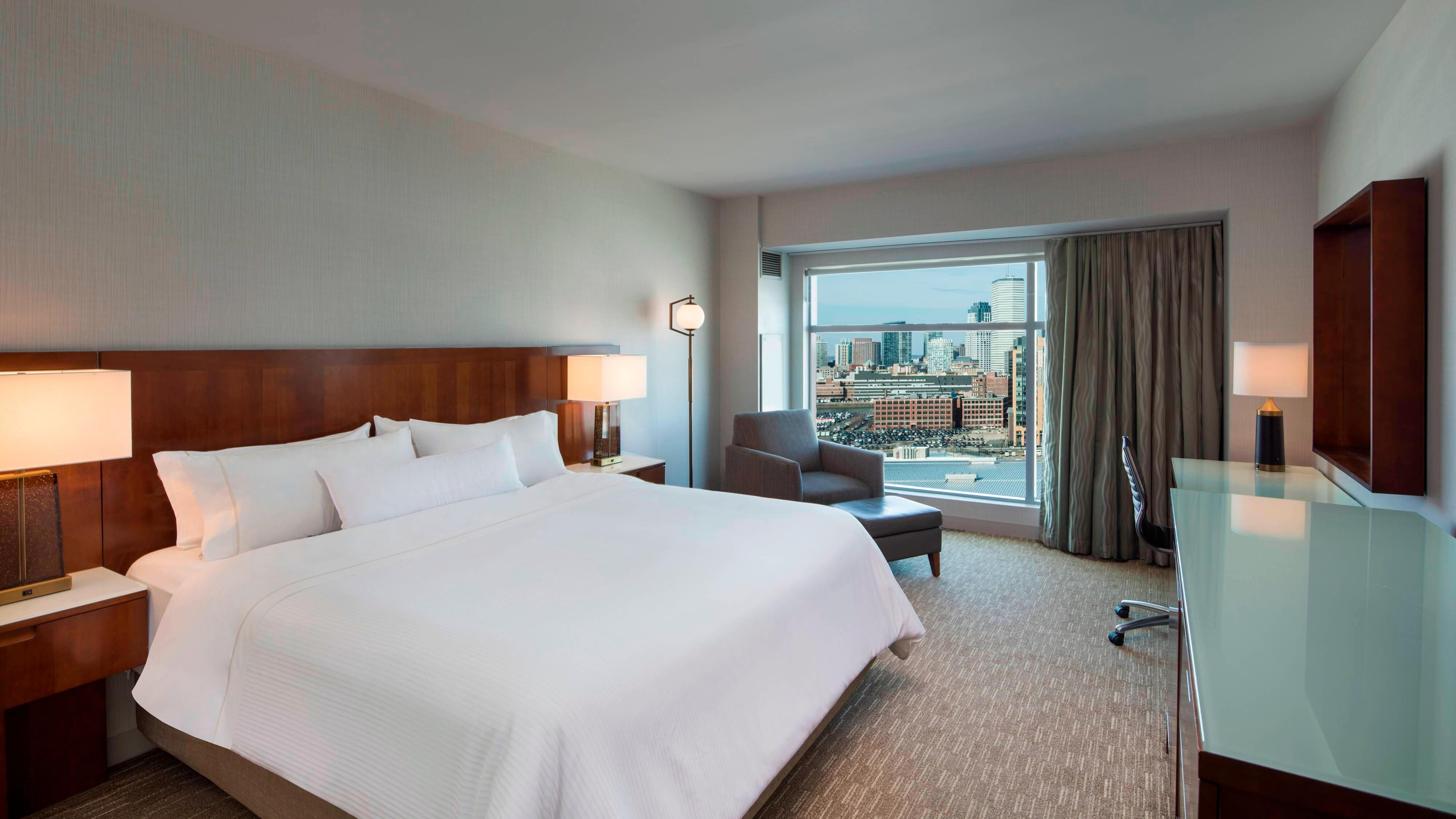 King Guest Room City View
