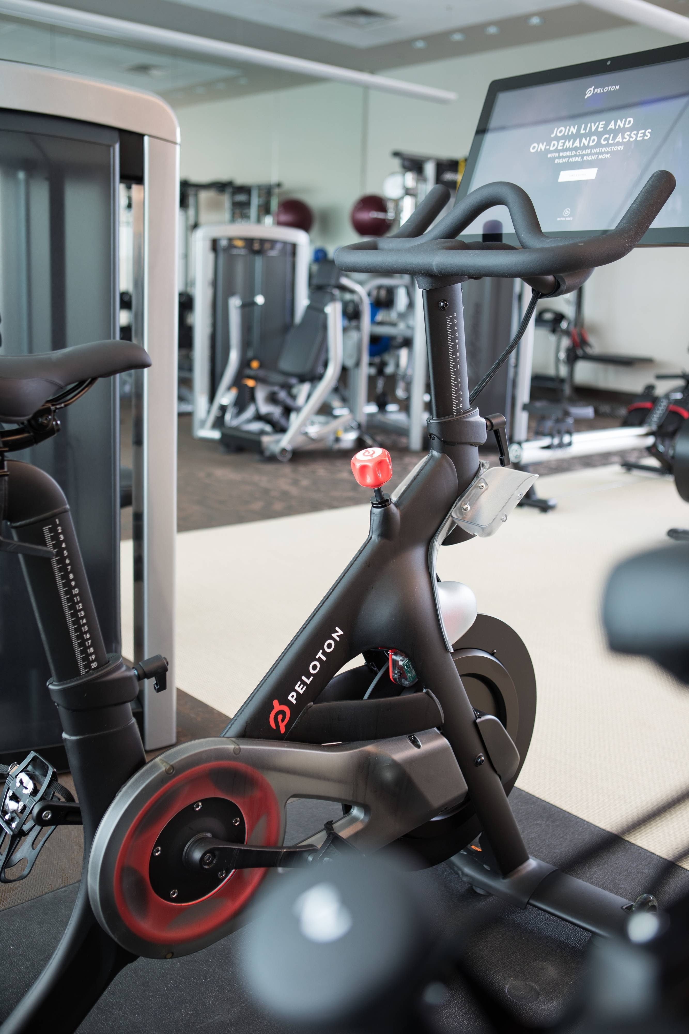 Westin Workout Peloton Bike