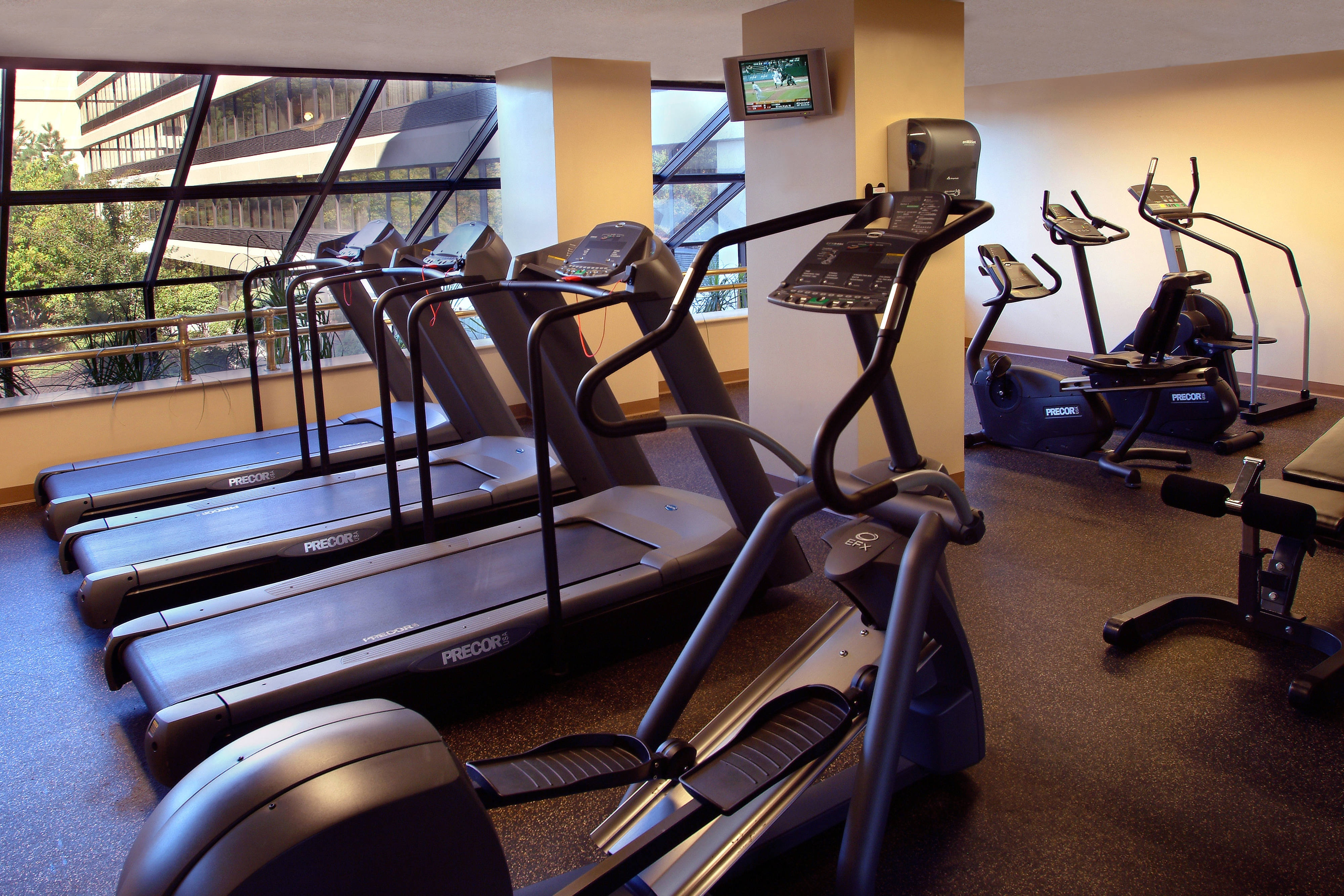 Boston Peabody hotel Fitness Center
