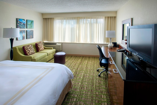 Peabody king guest room