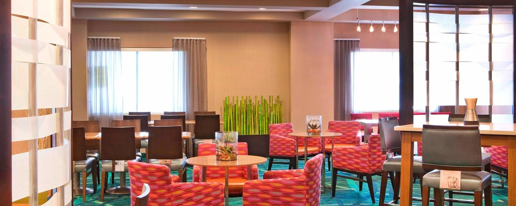 SpringHill Suites Breakfast Dining Area