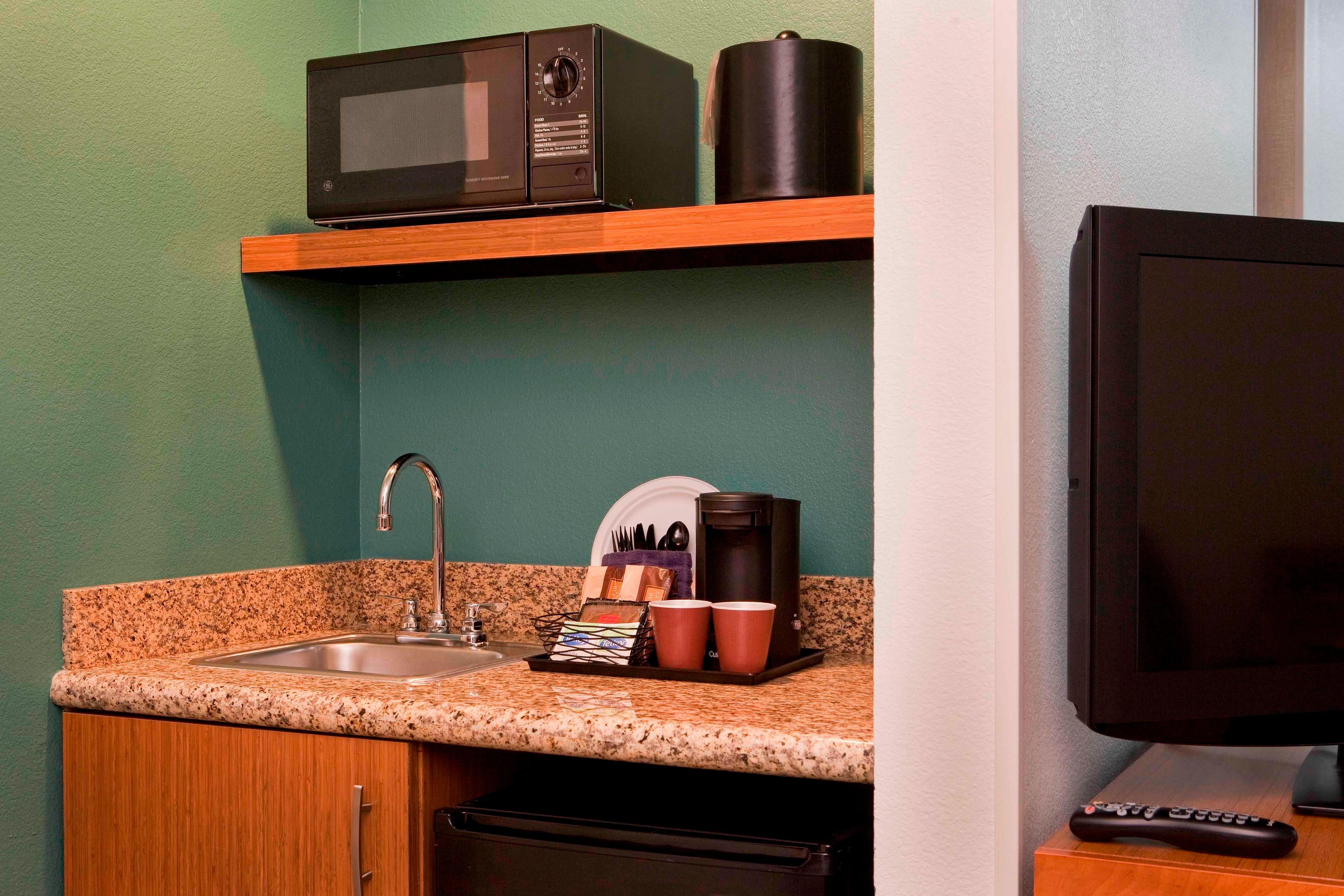 SpringHill Suite  Kitchen Area