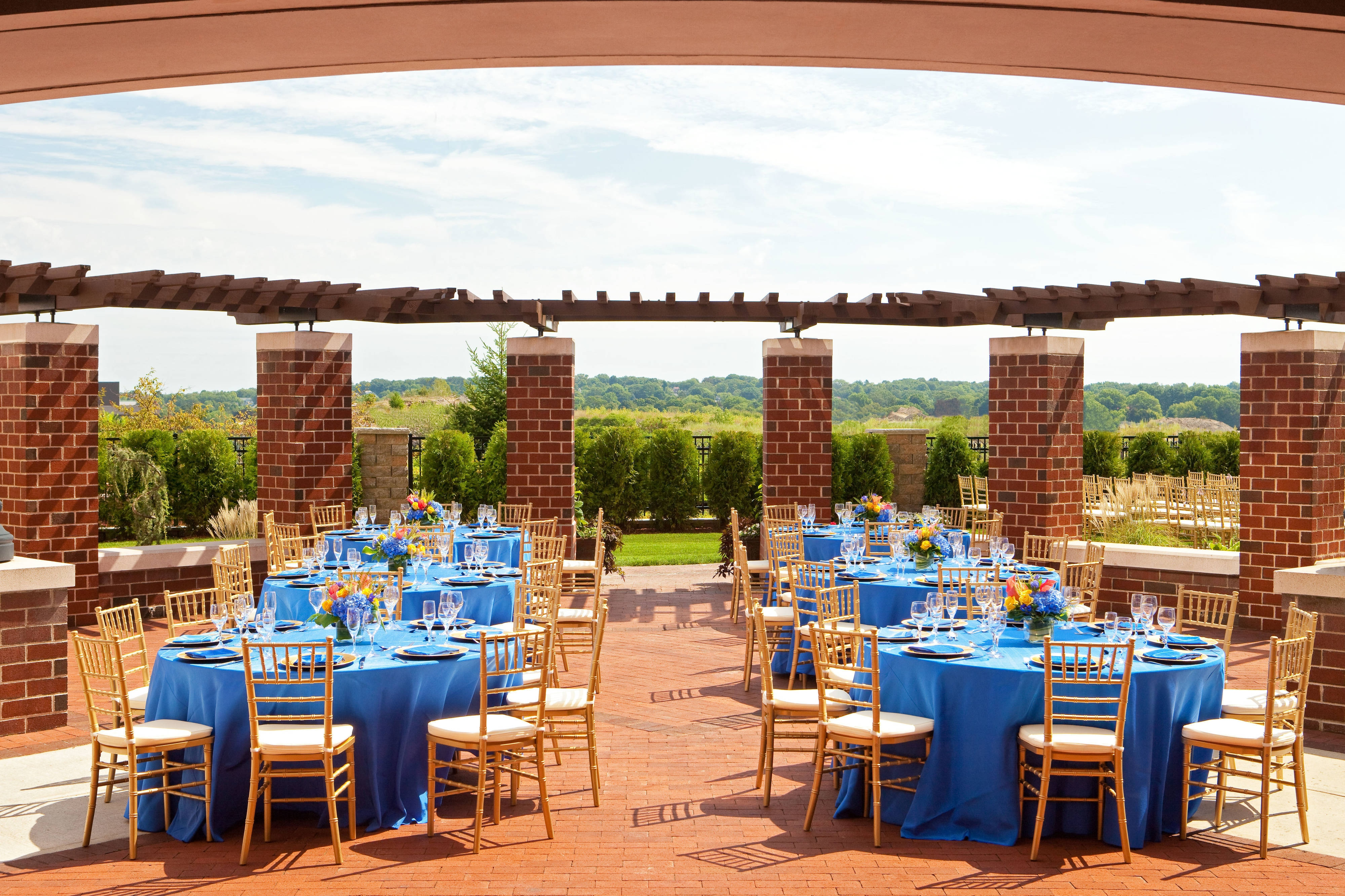 Quincy Outdoor Wedding Reception
