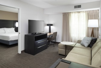 ADA accessible suite provides extra space