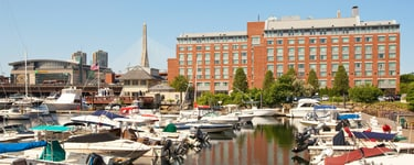 Residence Inn by Marriott, du port de Boston, sur le quai de Tudor