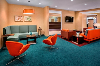 Extended Stay Westborough Hotel Lobby