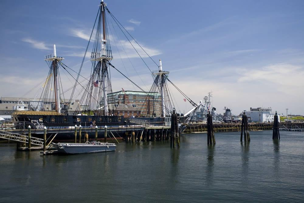 USS Constitution in Boston