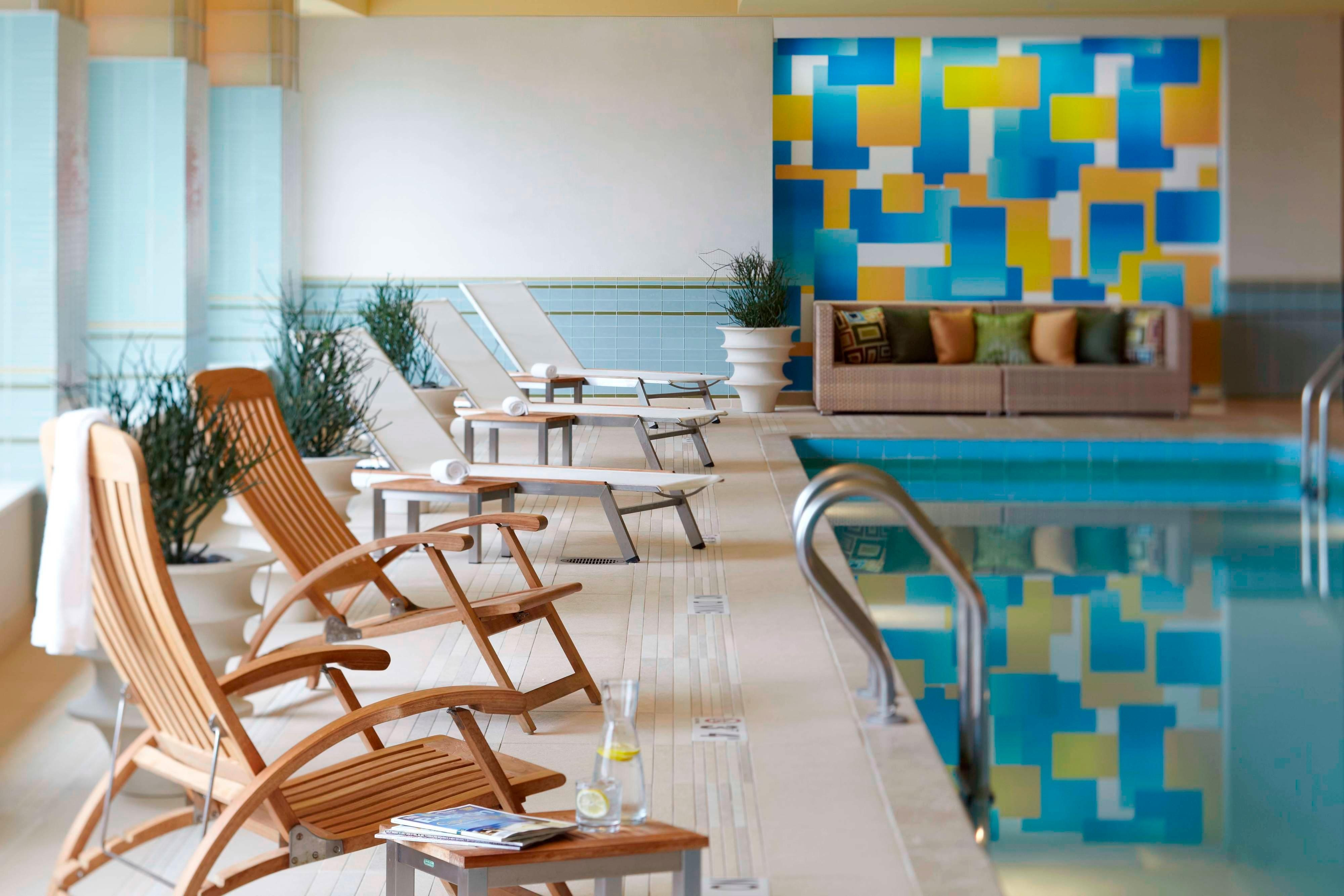 Boston Waterfront Hotel Indoor Pool