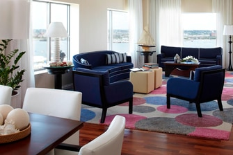 Upscale Boston hotel Presedential Suite