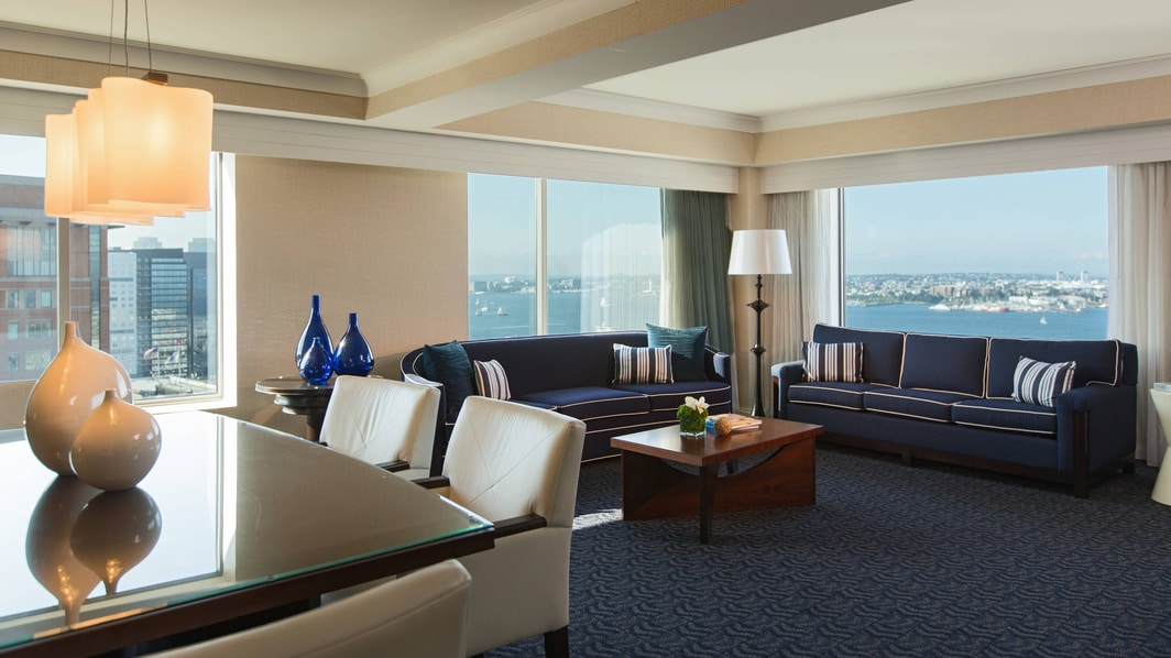 Seaport Hotel Vice Presidential Suite