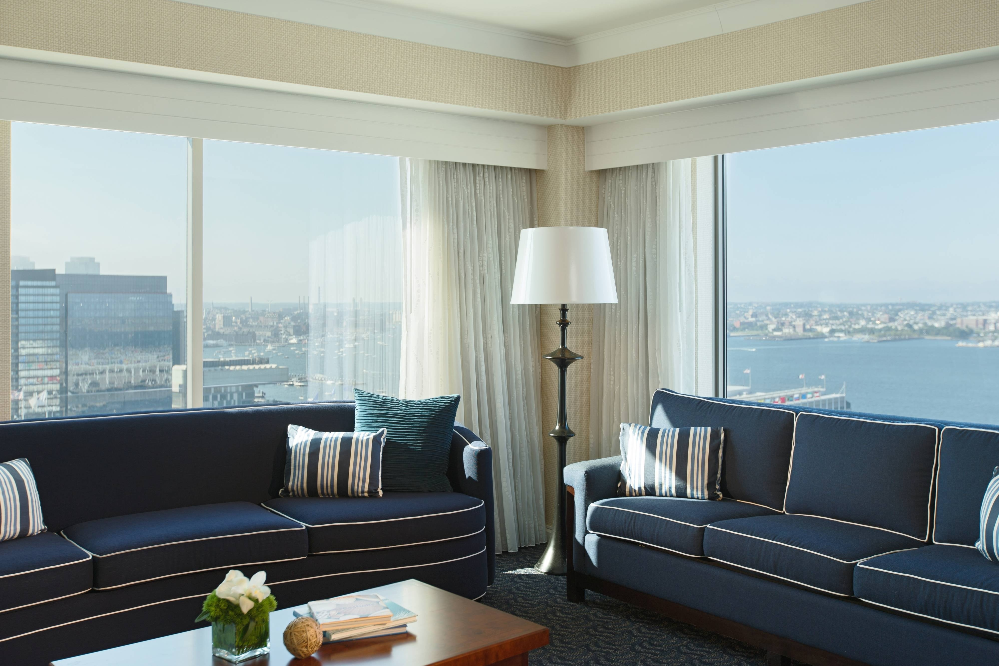 Boston Seaport Hotel Vice Presidential Suite