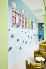 Bliss Logo Wall