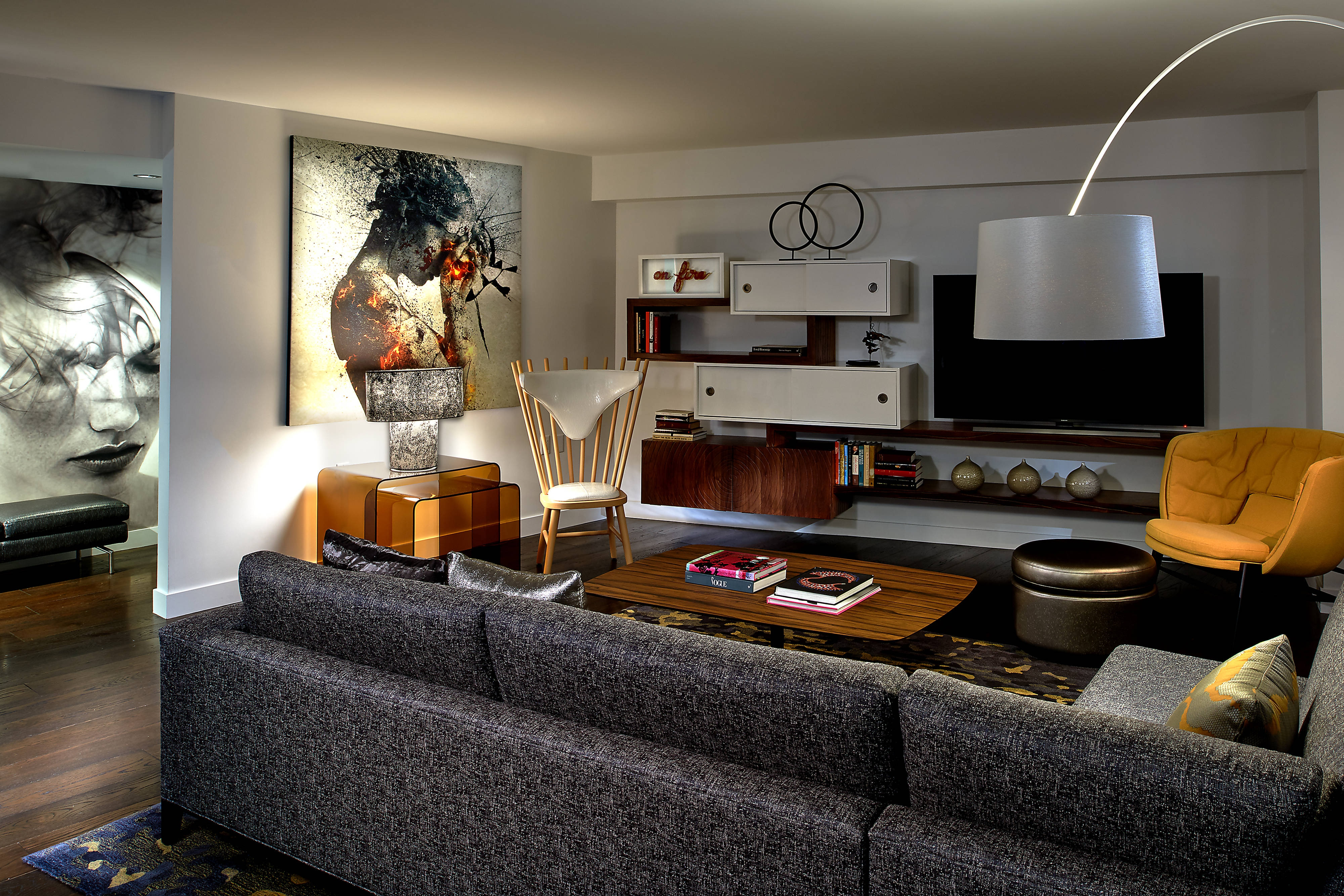 Extreme WOW Suite Living Area