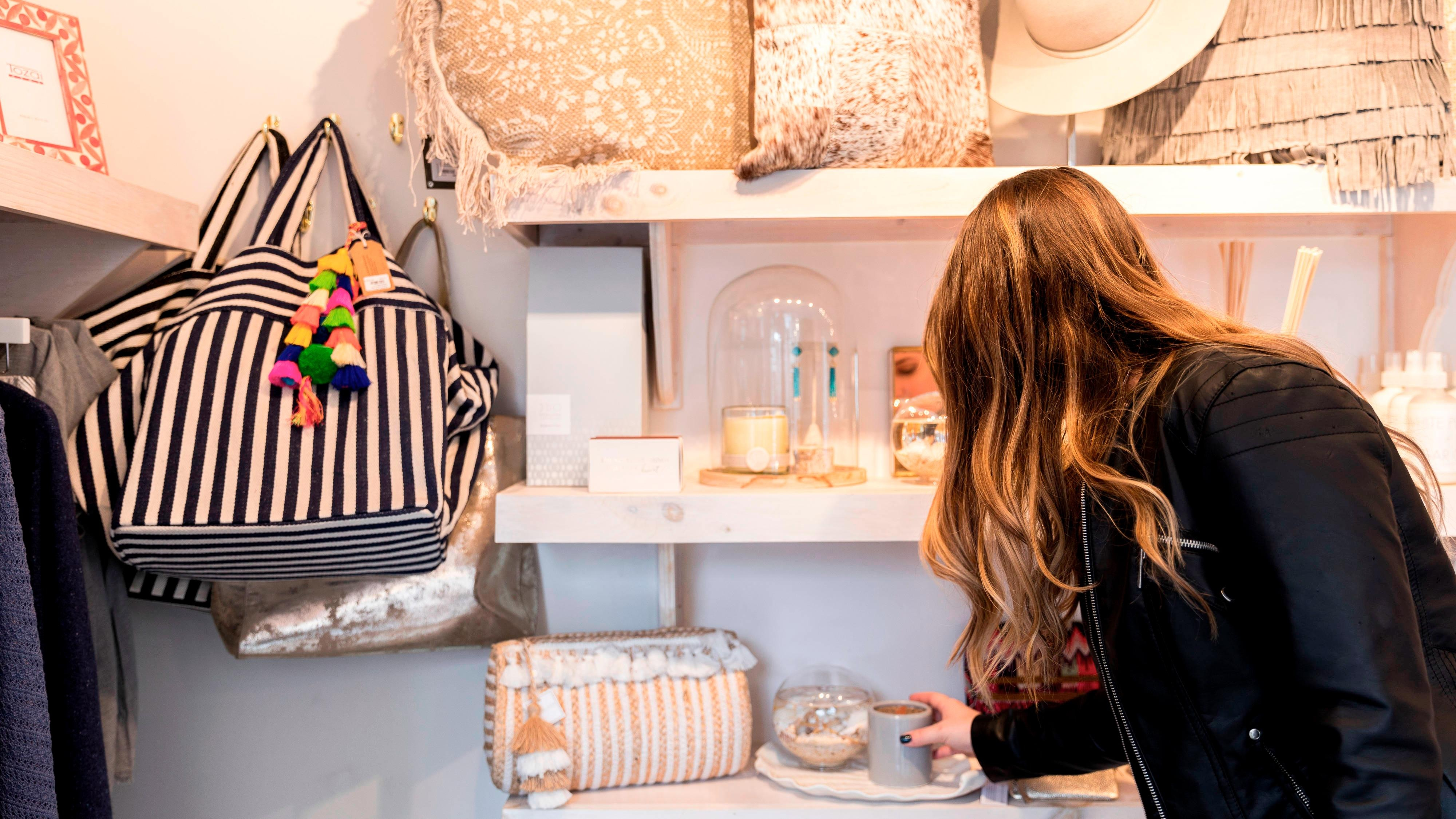 Shopping with our W Insider