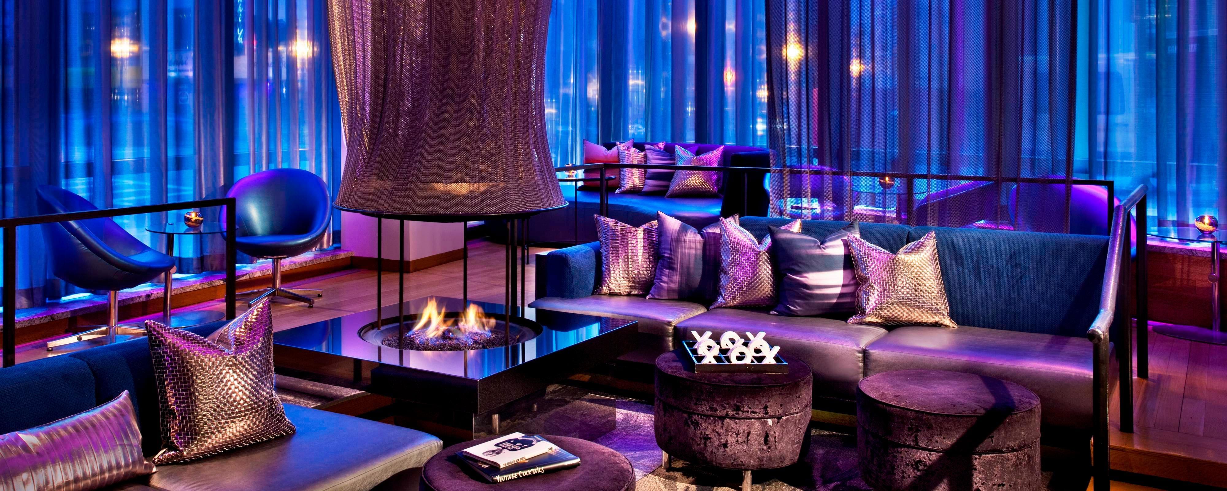 W Lounge Fireside