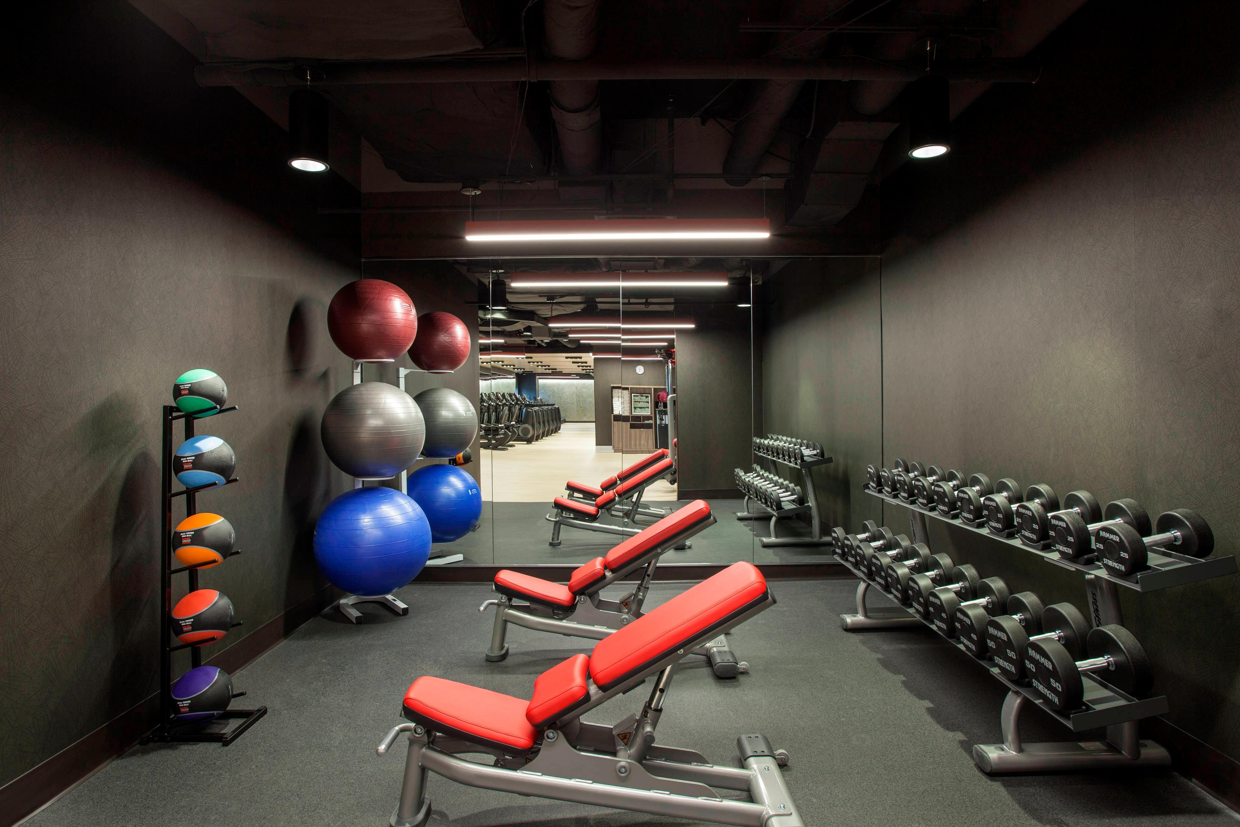 WestinWorkOUT Fitness Studio Free weights