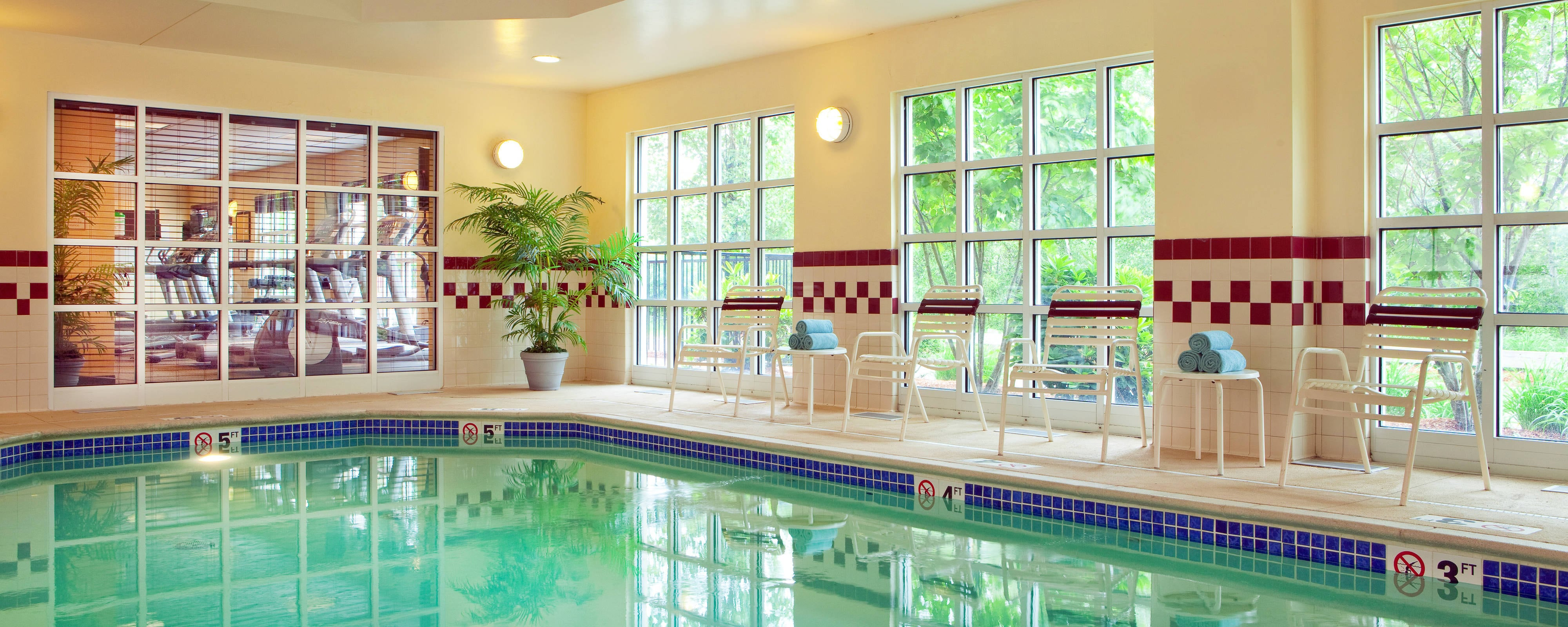 Residence Inn Boston Woburn Indoor Pool
