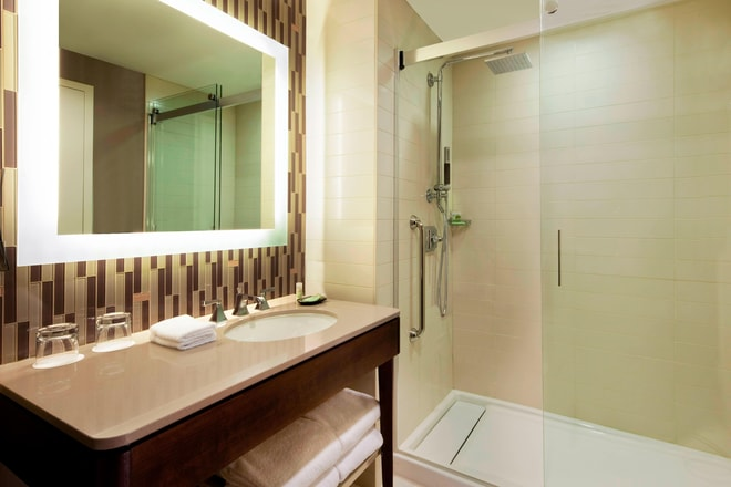 Guest Bathroom at The Westin Jekyll Island