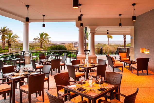 The Reserve Outdoor Seating