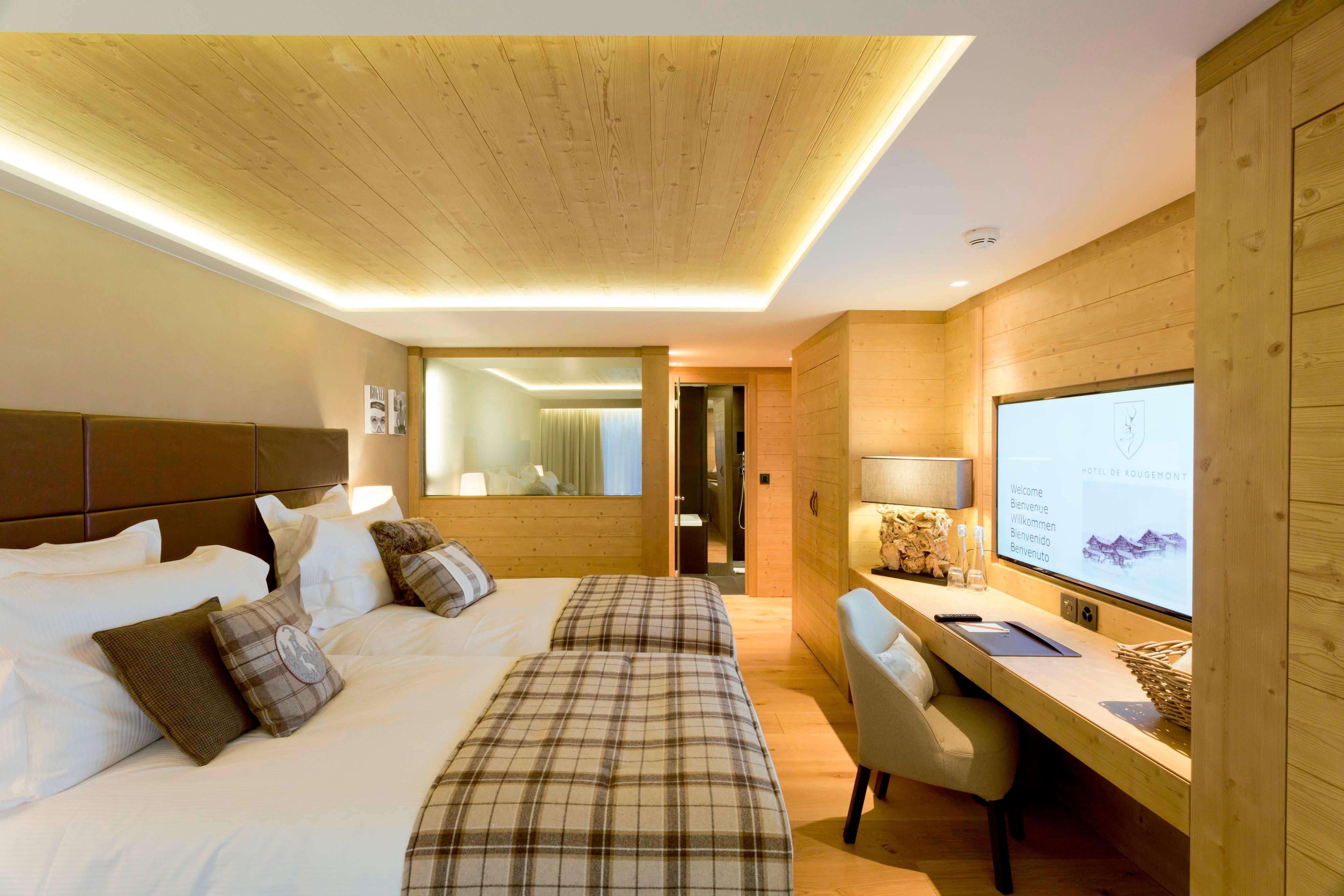 Chalet Deluxe Bedroom