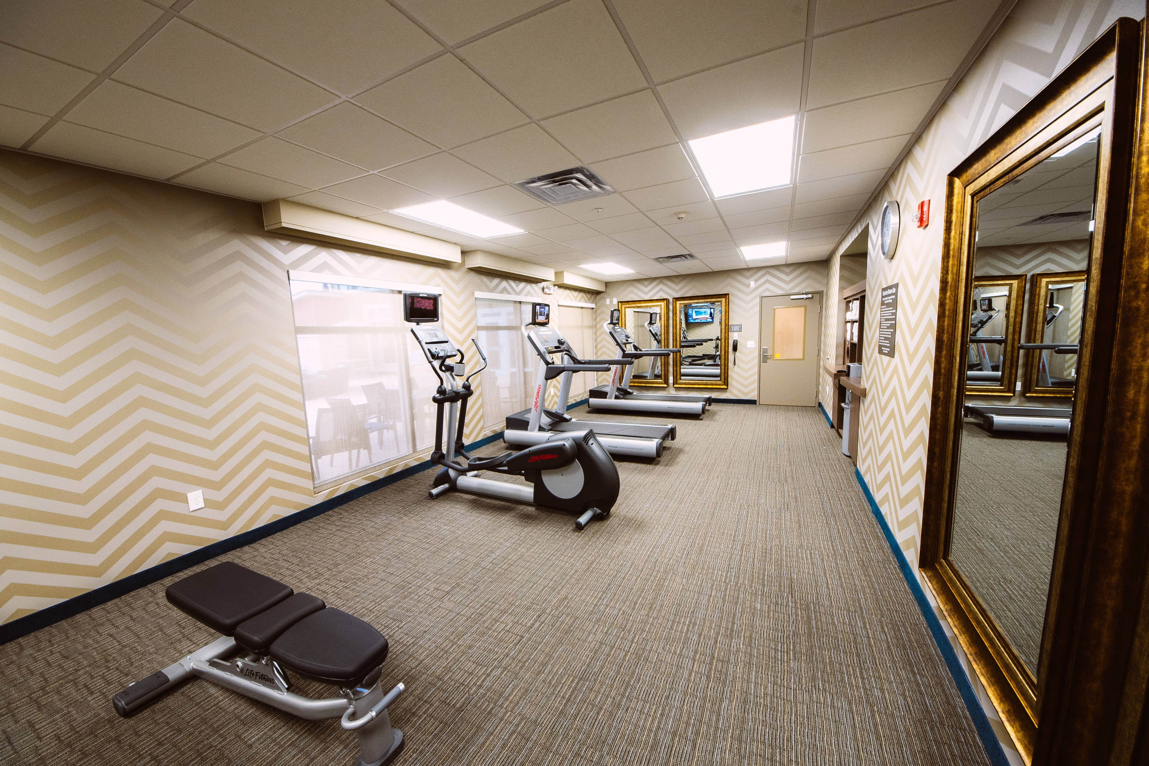24 Hour Exercise facility