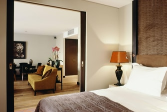 Grand Place Suite - Bedroom