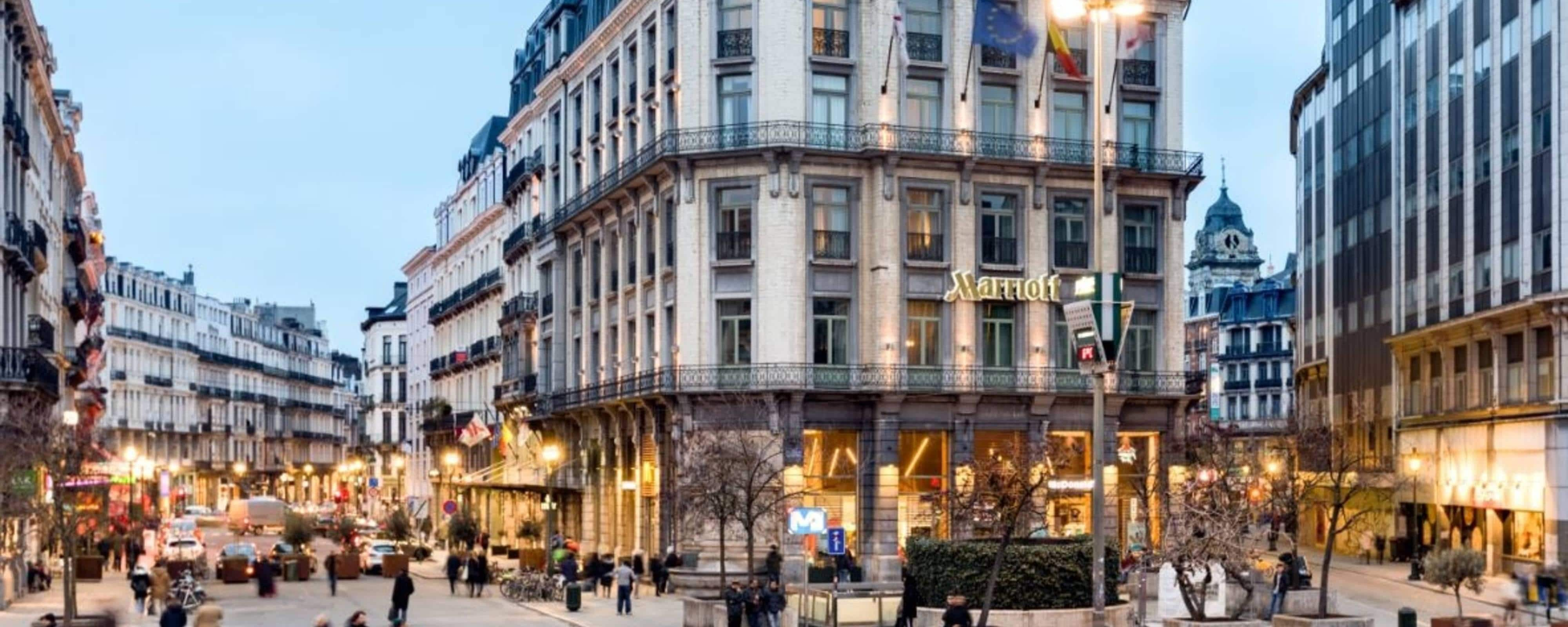 Hotel in Brussels, Belgium | Brussels Marriott Hotel Grand Place