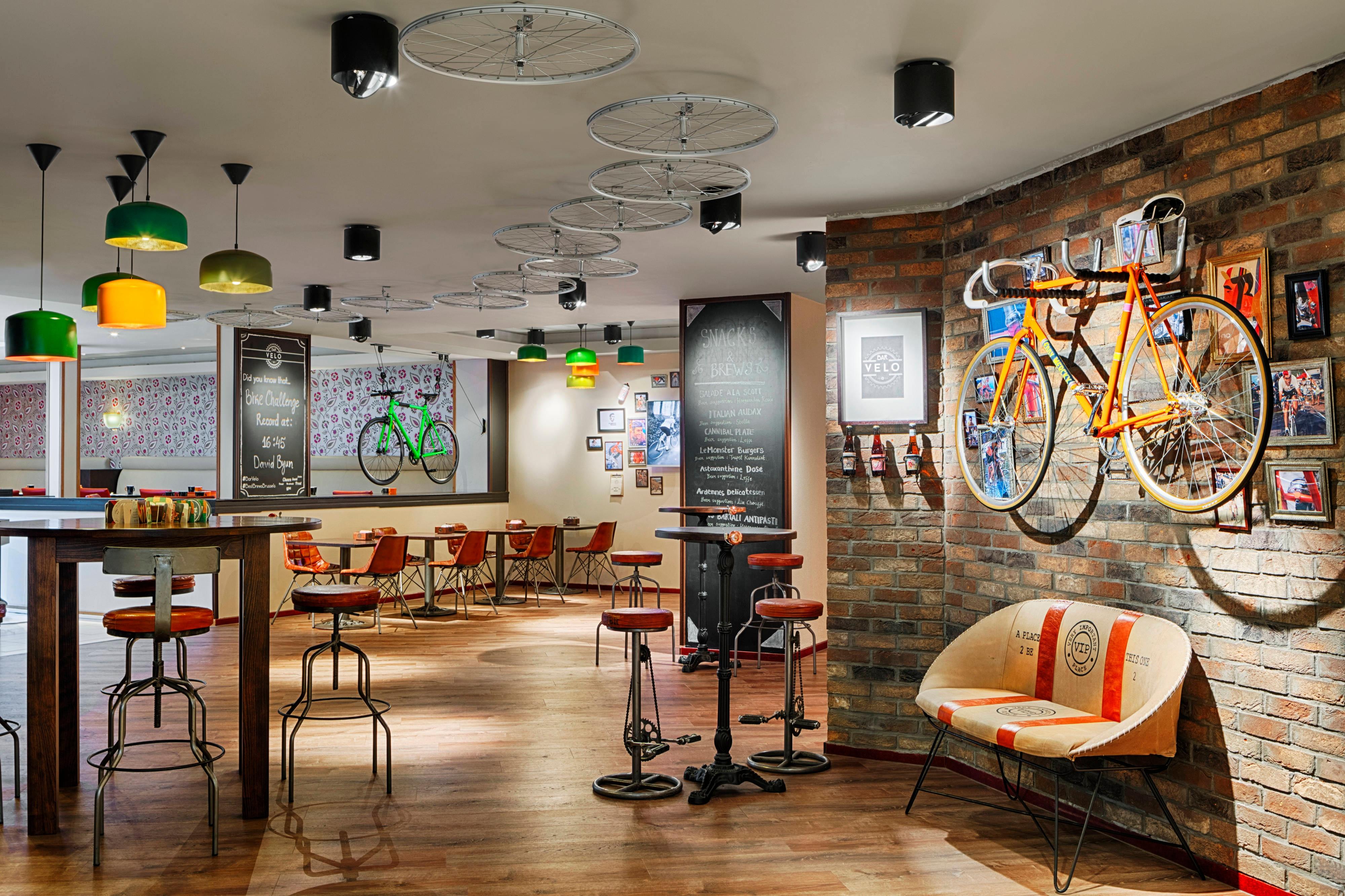 Bar Velo Cycling concept Bar